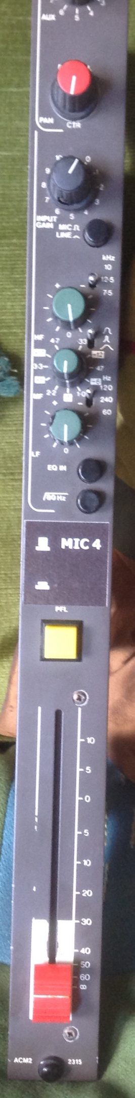 Connector for ACM channel 1